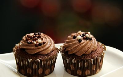 Choco Coco Muffins with Vanilla Essence