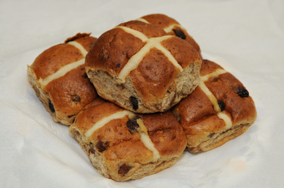 No Added Sugar Hot Cross Bun Recipe
