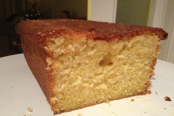 No Added Sugar Lemon Curd & Orange Cake Recipe