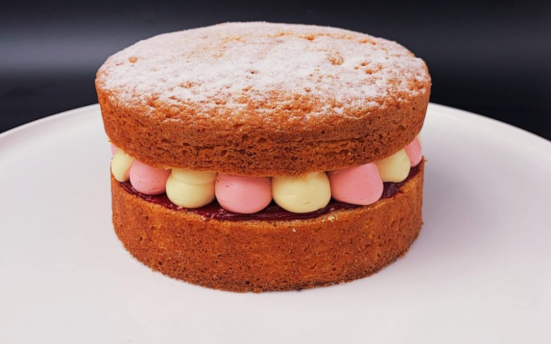 No Added Sugar Victoria Sponge Cake Recipe