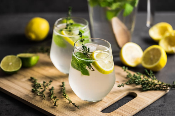 No Added Sugar Cloudy Lemonade Recipe