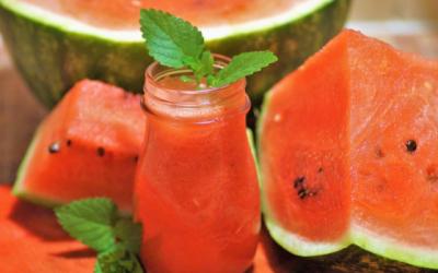 No Added Sugar Cloudy Watermelon Lemonade  Recipe