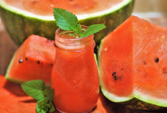 No Added Sugar Cloudy Watermelon Lemonade  Recipe