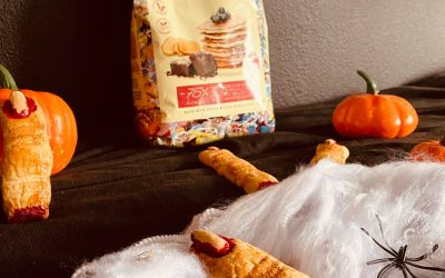 Halloween witch finger recipe