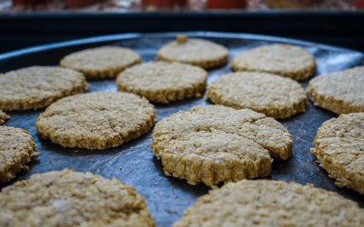 No Added Sugar Oatmeal Cookies