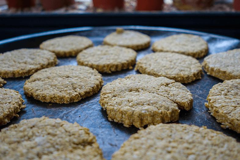 No Added Sugar Oatmeal Cookies