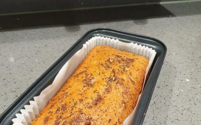 We are delighted to share this Delicious Zusto chocolate banana bread recipe, created by Makbul Patel from GBBO