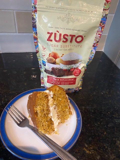 No Added Sugar Zùsto Carrot Cake