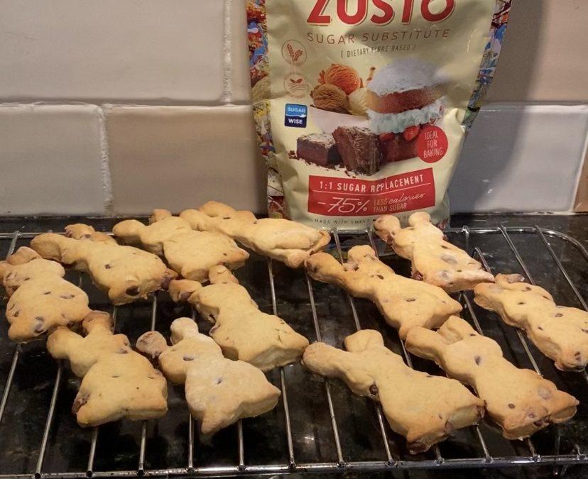 No Added Sugar Zùsto Chocolate Chip Bunnies