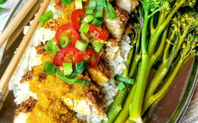 Chicken Katsu Curry by Lindsey Duffy @slimming.gym.and.gin