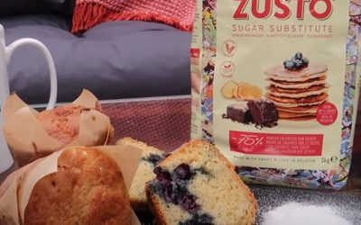 Zùsto Blueberry Muffins by Victoria Foulger